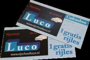 Rijschool Luco Cadeaukaarten - Silvolde, Liemers en Achterhoek